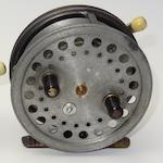 A Hardy The 'Silex' centre pin reel