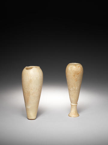 Two Egyptian alabaster vessels 2