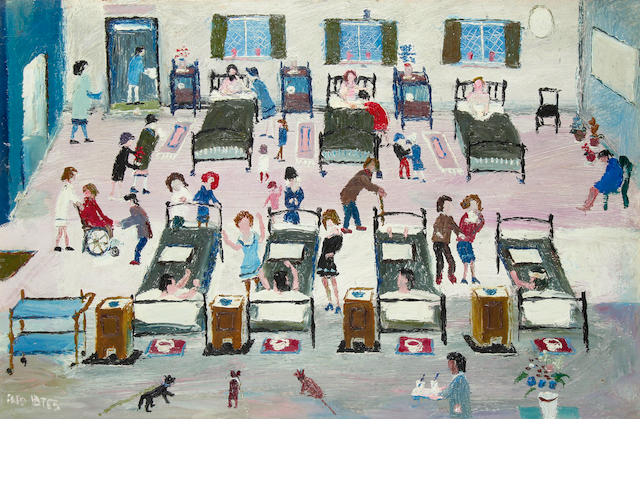 Fred Yates (British, 1922-2008) The Hospital Ward