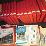 1950's to 1980's Arsenal handbooks and programmes