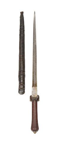 A Fine And Rare Lowland-Scots Ballock Dagger