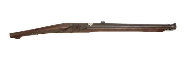 A Heavy 18-Bore Matchlock Musket
