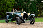 1924 Bentley 3-Litre Speed Model Tourer  Chassis no. 840 Engine no. 744