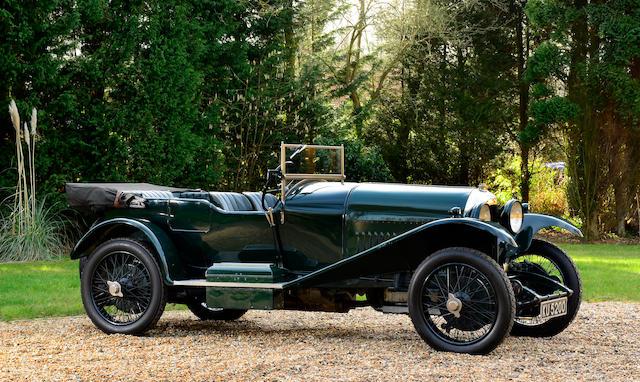 1924 Bentley 3-Litre Speed Model Tourer  Chassis no. 840 Engine no. 744