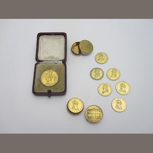 A gold medallion  (3)