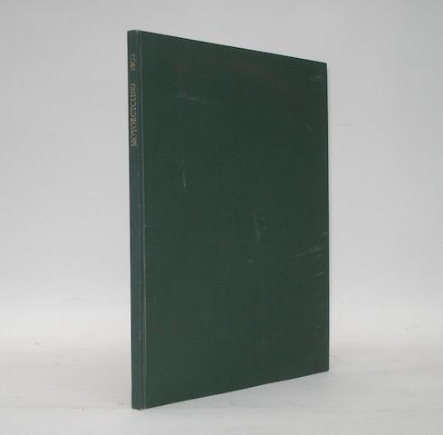 Motor Cycling & Motoring; bound 1st and 2nd issues for Volume 1, 1902,