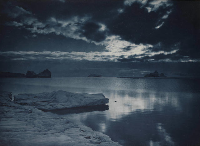 "PONTING (HERBERT GEORGE)  ""Midnight in the Antarctic Summer"""