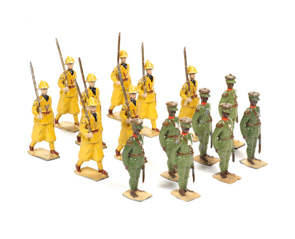 Britains set 1436, Italian Infantry in Colonial Service Dress 15