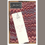 TENNYSON (ALFRED) The Lover's Tale and other poems, now first collected [by Richard Herne Shepherd]
