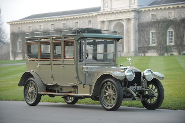 1912 Rolls-Royce 40/50hp Silver Ghost Double Pullman Limousine - 'The Corgi'  Chassis no. 1907