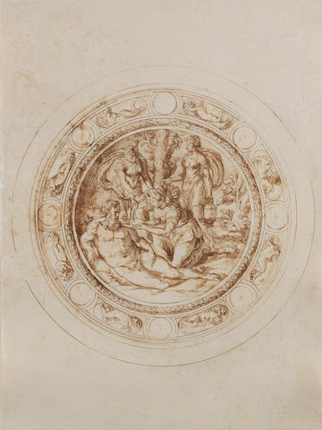 Jacopo Strada (Mantua 1510-1588 Vienna), and Studio Design for a Basin