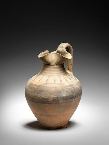 An Etruscan oinochoe