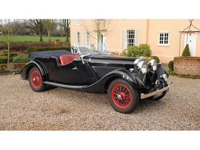 1935 Talbot BA105 Tourer  Chassis no. 38822 Engine no. BA724