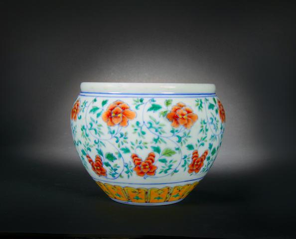A doucai bowl Guangxu six-character mark