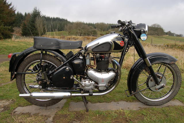 1952 BSA 650cc Golden Flash