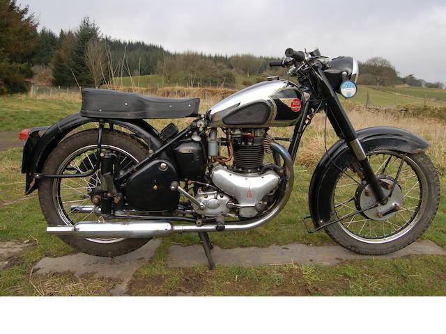 1952 BSA 650cc Golden Flash