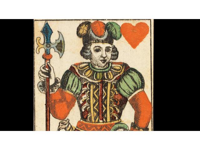 A pack of German tarock cards, designed by Daniel Chodowiezki, circa 1785,