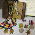 A Group of three World War I medals,