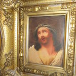 After Guido Reni (Italian, 1575-1642) Christ with crown of thorns