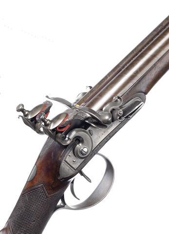 A 23-Bore D.B. Flintlock Sporting Gun