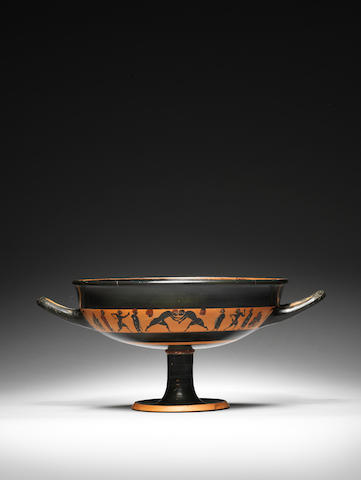 An Attic black-figure band cup