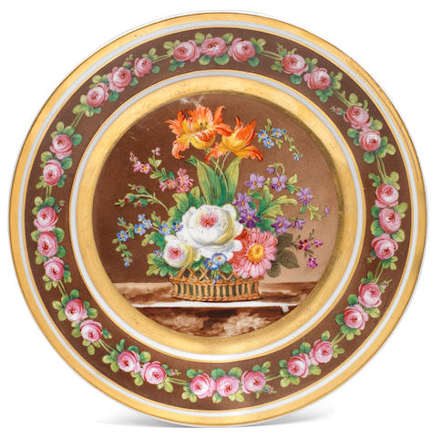 An Imperial plate
