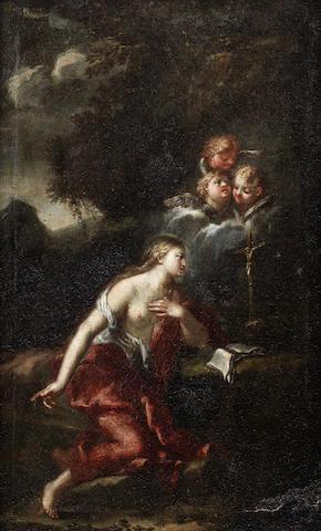 Attributed to Giovanni Battista Bonocori (Campli 1633-1699 Rome) The Penitent Magdalen