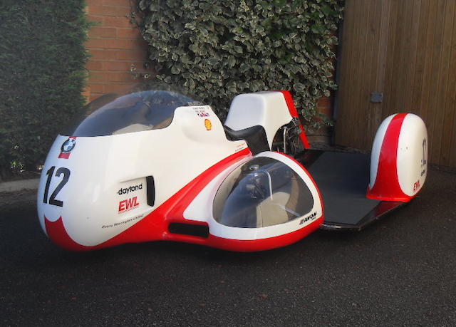 The ex-Dick Hawes,1996 Busch-BMW 980cc Racing Sidecar Outfit