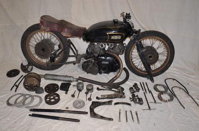 1950 Vincent 998cc Rapide/Black Shadow Project Frame no. RC5326 Engine no. F10AB/1B/8847