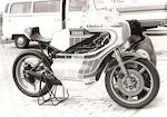 The ex-Takazumi Katayama, World Championship-winning,1977 Yamaha YSK3 'Sankito' 350cc Racing Motorcycle Frame no. SPE-YC/F-25 Engine no. 002