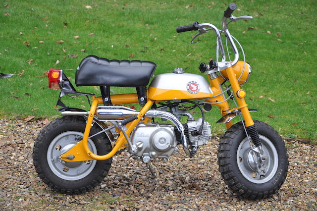 1974 Honda 49cc Z50 Mini Trail 'Monkey Bike' Frame no. Z50AE 188811 Engine no. Z50AE 188811