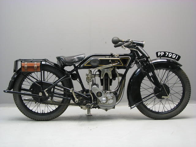1928 Sunbeam 350cc Model 8 Frame no. C1391 Engine no. 273/23250