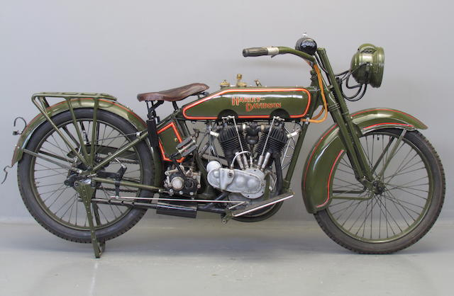 1924 Harley-Davidson 1,000cc Model JE Frame no. 24JE11848 Engine no. 24JE11848
