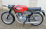 Never registered or ridden c.1960 Parilla 175cc Speciale Frame no. 410531 Engine no. 410531