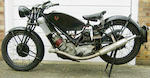 1934 Scott 596cc Flying Squirrel Frame no. 3775 Engine no. DPY4405