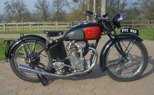 1937 Excelsior Manxman