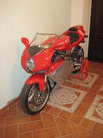 100 kilometres from new,2004 MV Agusta F4 1000S Frame no. ZCGF511BA4V001523