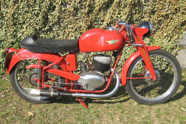 c.1950 Alpino 125cc Sport Frame no. 027 Engine no. 125-379