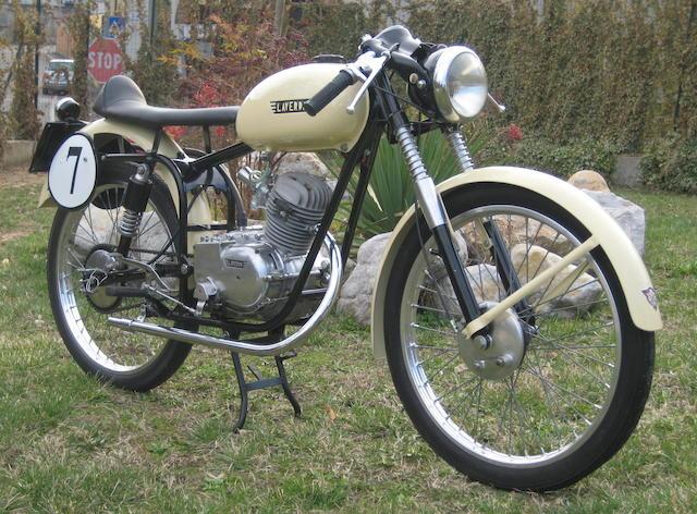1953 Laverda MT 75 Sport Frame no. 544044 Engine no. 544044S