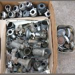 Assorted pre and post-War carburettors,