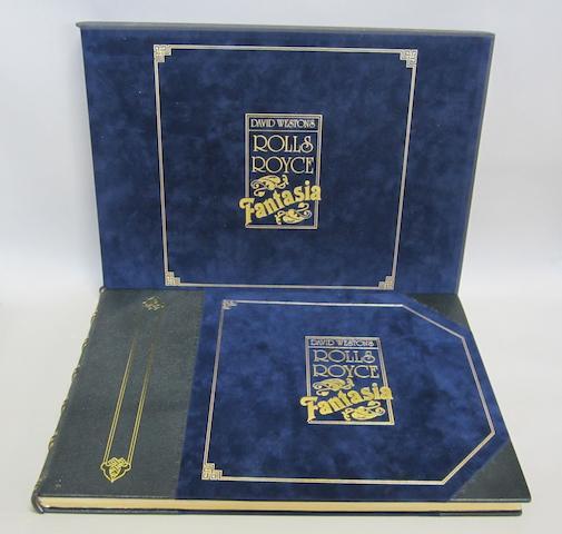David Weston's Rolls-Royce Fantasia, limited edition number 75/850,