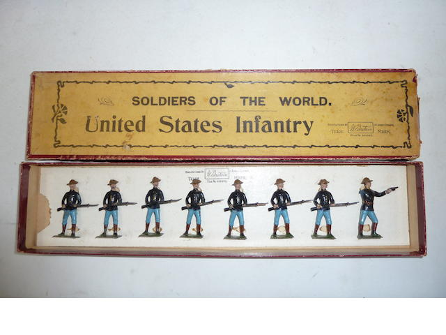 Britains set 91, United States Infantry 8