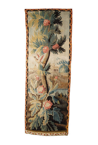 An 18th century Flemish tapestry fragment