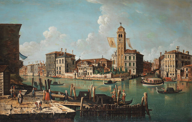 After Michele Marieschi, 19th Century The entrance to the Cannareggio, Venice,