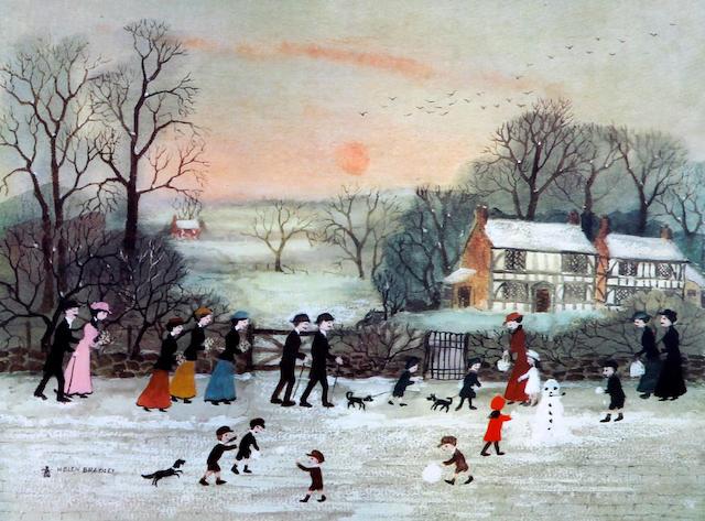 Helen Bradley (British, 1900-1979) 'Spring'