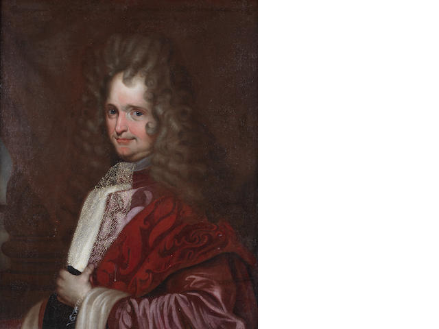 Venetian School, early 18th Century Portrait of a gentleman, half-length,