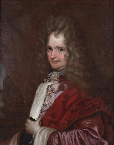 Venetian School, early 18th Century Portrait of a gentleman, half-length,