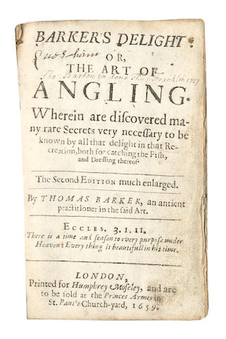 BARKER (THOMAS) Barker's Delight, second edition, 1659