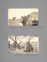 BOER WAR. Substantial series of letters and letter-journals by William Anderson, written during the Second Boer War, including a long account of the siege of Ladysmith; together with a photograph album