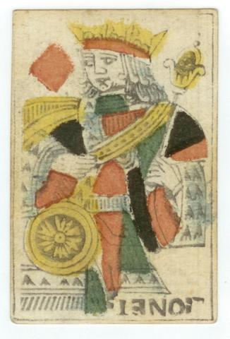 A pack of French playing cards, by Alexandre Lionnet, Montpelier, 1769-1772,